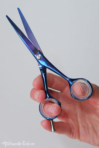 tondeo haarschere, tondeo spider blue, haarschneideschere tondeo