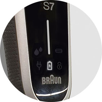 braun series 7 display