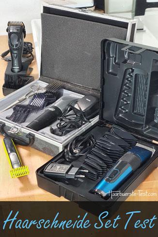 Haarschneide Set Test