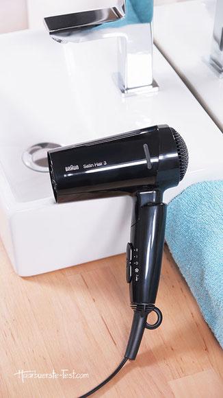 braun style&go, Braun Satin Hair 3 HD350 Test
