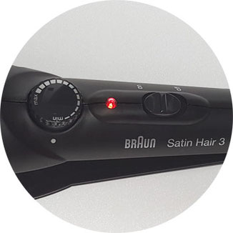 Braun Satin Hair 3 Temperatur