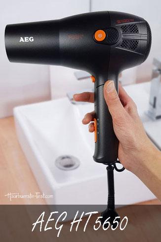 AEG HT5650 Test - Klappbarer Haartrockner mit Kabeleinzug im Test