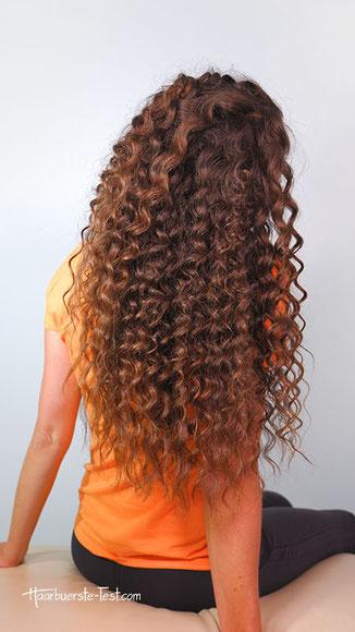 kleine locken lange haare, lange haare kleine locken