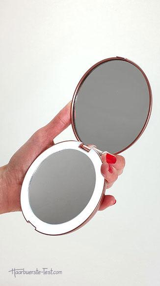 taschenspiegel mit licht, led taschenspiegel, kosmetikspiegel handtasche