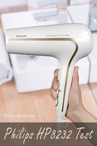 philips ionen haartrockner hp8232 00 test, Philips Hp8232 in der Hand