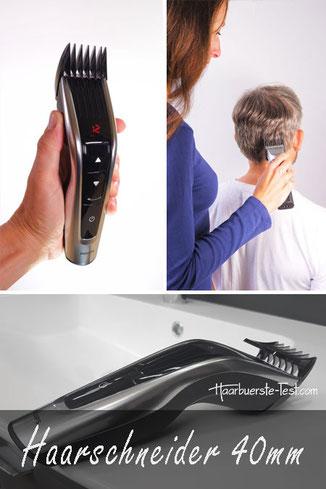 haarschneider 40mm, haarschneidemaschine 40mm, haarschneider schnittlänge 40 mm test