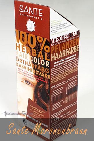 sante maronenbraun, sante maronenbraun vorher nachher, sante maronenbraun graue haare