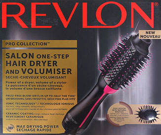 revlon rvdr5222 pro collection salon one-step warmluft und volumenbürste