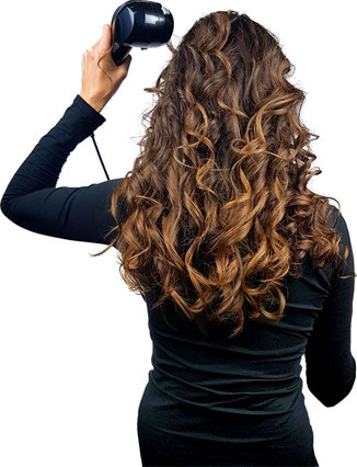 Locken mit Curl Secret 2, Babyliss C1300E Test, Babyliss Curl Secret 2 Test