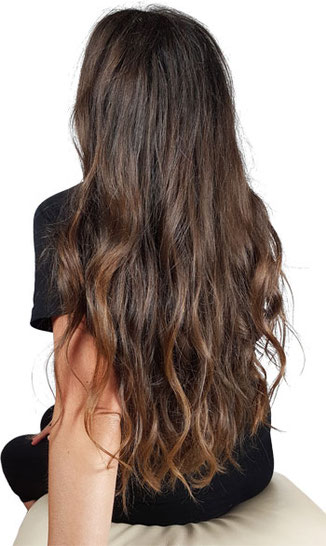 beach waves lange haare, lange haare beach waves
