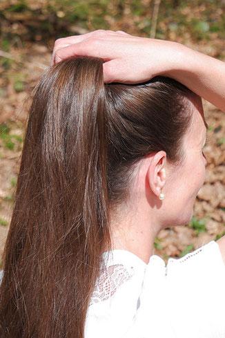 Einfache Frisur Anleitung Einfache Frisur Fur Lange Haare