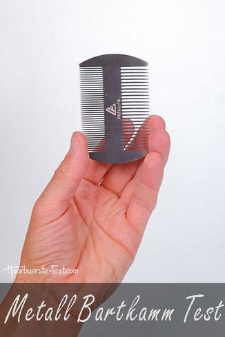 Bartkamm Metall Test: Wie gut ist der Metall Bartkamm im Praxis Test?