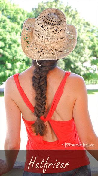 Finde die passende Hutfrisur!, sommerhut, hut tragen
