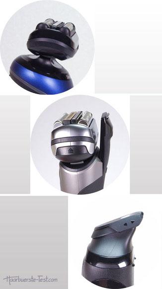 elektrischer rasierer mit trimmer, elektrorasierer mit trimmer