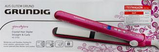grundig HS 5732, Glätteisen pink, Grundig Glätteisen pink