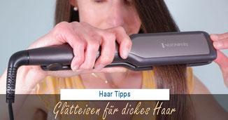 Glätteisen für dickes Haar ... Welches Glätteisen ist für dicke Haare das beste?