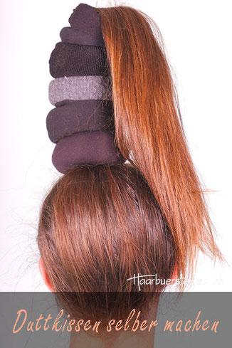 Duttkissen selber machen: So machst du den besten Haar-Donut! 6 Methoden im Praxis-Test.
