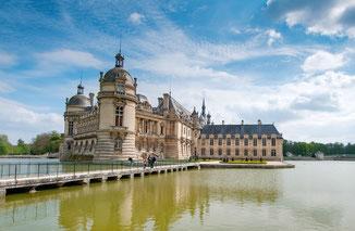 Chateau de Chantilly proche gite Les Merles OIse