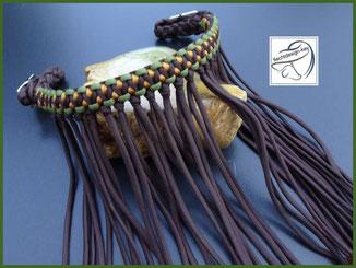 Paracord Fliegenfransen, Stirnband