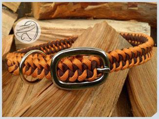 """verstellbares Halsband mit Schnalle, ca 2cm """"Shark Jaw Bone"""""""