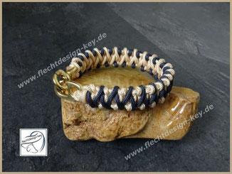 Halsband für kleine Hunde Paracord Typ II