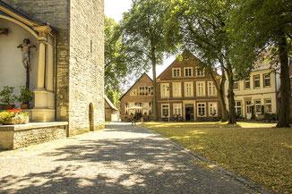 Johanni-Kirche-Platz in Billerbeck im Münsterland