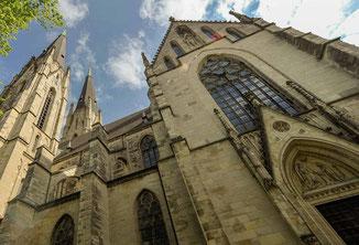 St Ludgerus Dom zu Billerbeck im Münsterland. Besuchen Sie den Dom im Urlaub in den Baumbergen