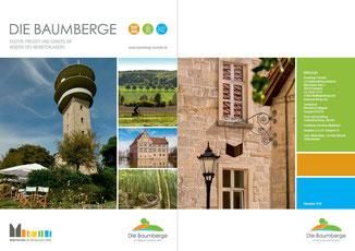 Im neuen Gewand: Imagebroschüre Baumberge