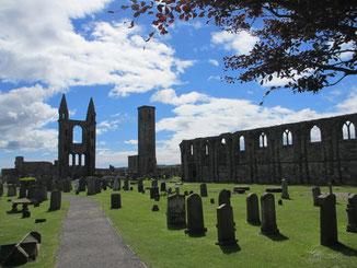 Ruinen der alten Kathedrale von St. Andrews