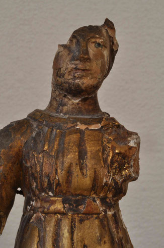 Maria, Detail vor den Massnahmen