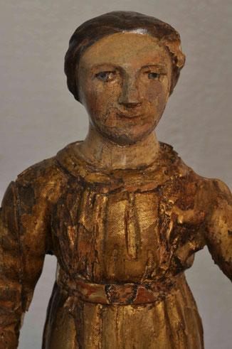 Maria, Detail nach den Massnahmen