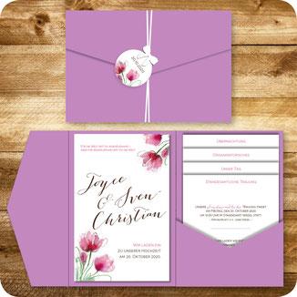 P_015 Pocket-Einladungskarte