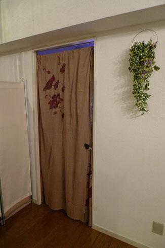 各部屋とも、個室になっております。