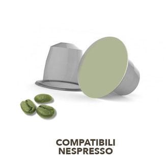 capsule nespresso caffe verde