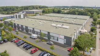 Luftbild einer Firma aus Gütersloh