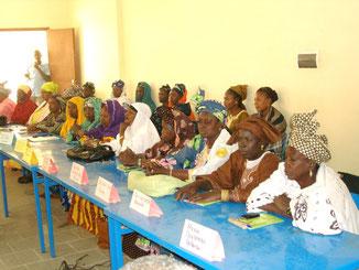 """délégation de """"Femmes Leaders"""""""
