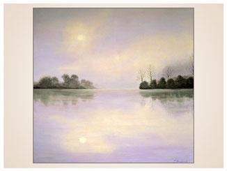 auftragsmalerei-inna-bredereck-acrylgemaelde-oelfarbe-kunstwerk-galerie-wasswer-see-baeume-nebel-sonne