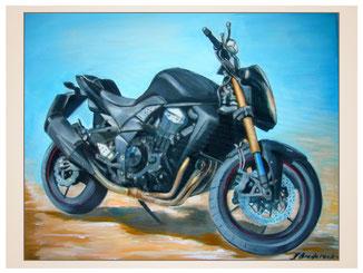 auftragsmalerei-inna-bredereck-kunstwerk-gegenstaende-black-motorrad-rennmaschine-sportmotorrad