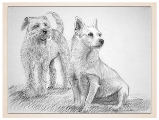 auftragsmalerei-inna-bredereck-kunstwerk-portrait-strolchi-hunde-rute