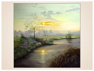 auftragsmalerei-inna-bredereck-oelgemaelde-oelfarbe-kunstwerk-galerie-bachlauf-fluss-himmel-landschaft