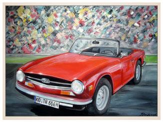 auftragsmalerei-inna-bredereck-cabrio-auto-oldtimer-kunstwerk