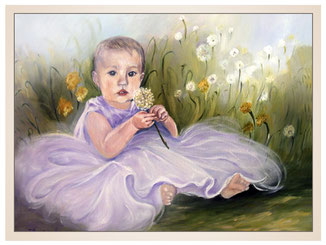 inna-bredereck-auftragsmalerei-oelgemaelde-blumenkind-wiese-portraitzeichnung-kunstwerk