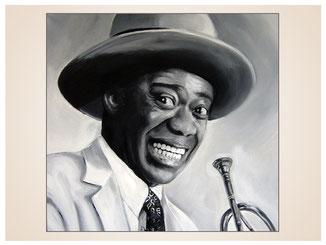 inna-bredereck-auftragsmalerei-portraitzeichnung-kunstwerk-louis-armstrong-musiker-trompete