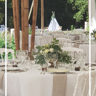 Mariage Ile De France Chateau Chapiteau Bambou Paris Wedding