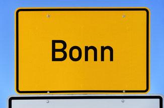 Stadtschild Bonn - Tangowoche Weihnachten Bonn