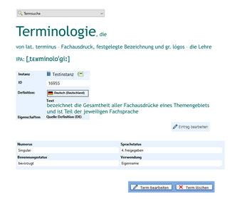Die Textmamsell: Collage Terminologie