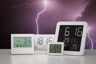 Stations météo, thermomètres et baromètres