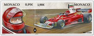 Niki Lauda - Timbre - Stamp -