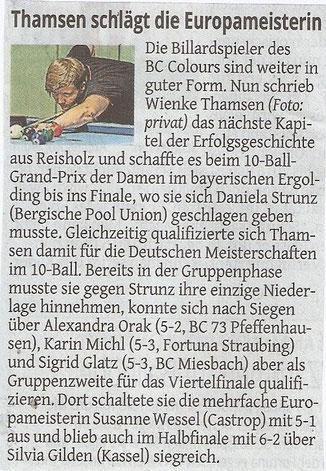 08.05.2015 Westdeutsche Zeitung