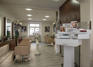 Martina Zandron Salon - Beauty Harmony La Biosthetique in München - Innenansicht - Einblick